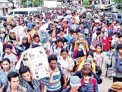カンボジア人出稼ぎ労働者へタイが合法許可証発行へ