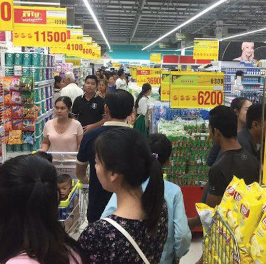 タイ大手小売Big C、カンボジアに初出店