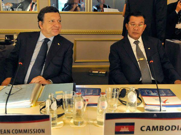 EU、カンボジアとのEBA協定一部停止 事実上の経済制裁