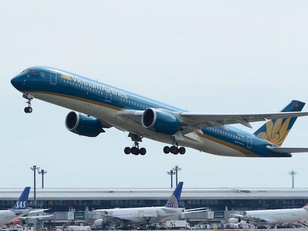 ベトナム航空:4月末まで全ての国際線を運休に、日本便も含む