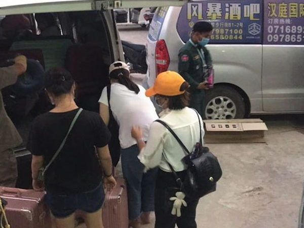 バベットで中国人174人が隔離