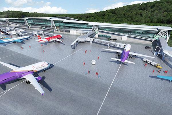 シアヌークビルの新空港、建設計画が決定