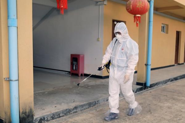 カンボジア:コロナ感染確認、アメリカから帰国の男性