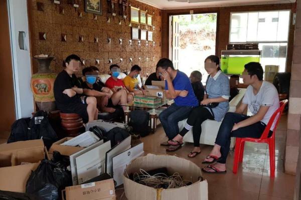 違法オンライン賭博業で中国人22人を逮捕