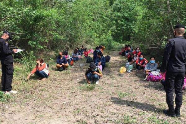 タイへの不法入国者増加、カンボジア人は274人