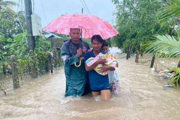 台風ノウル、シアヌークビルとココンで500人避難、6人死亡