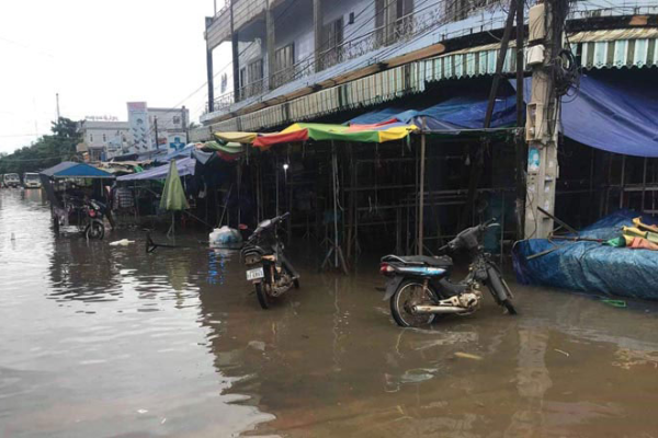 台風ノウル、カンボジアの死者11人行方不明者1人