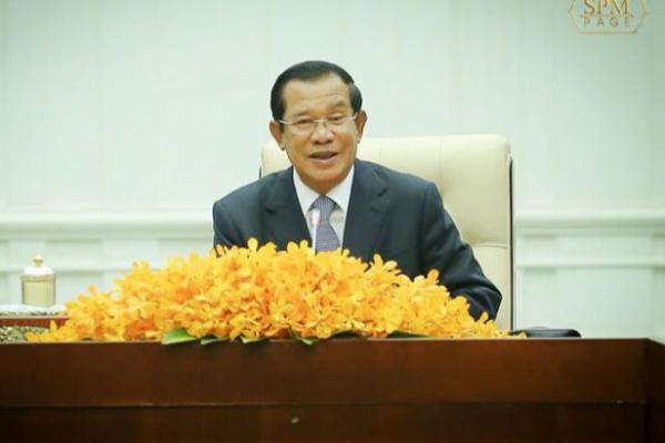 カンボジアは中国の衛星国ではない、フンセン首相が反論