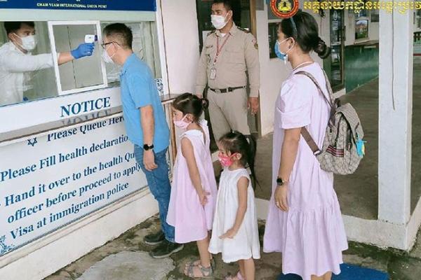 カンボジアで新たに新型コロナ感染者3人を確認、計286人に