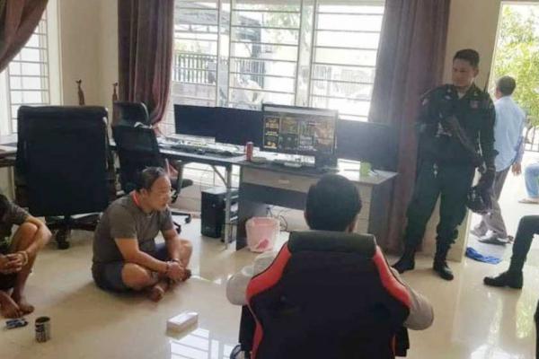 違法オンライン賭博で外国人10人を逮捕