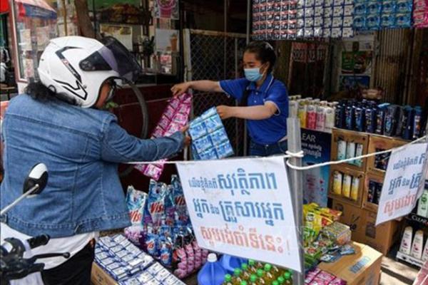 カンボジア:市中感染者3人を確認