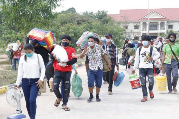 タイでカンボジア人157人がコロナ感染、タイ疾病管理局が発表