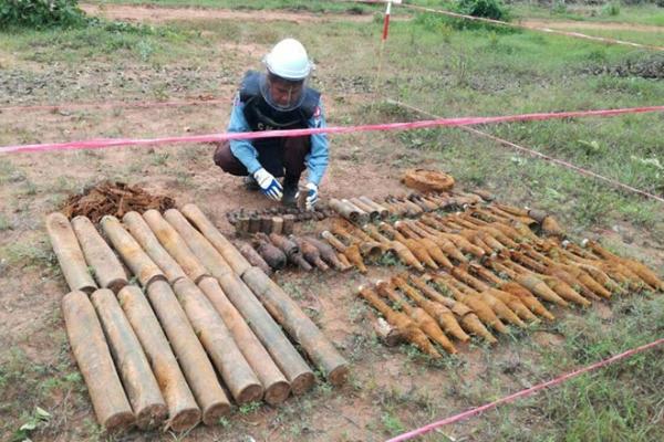 カンボジア:今年は昨年より10%多い地雷撤去を実施へ