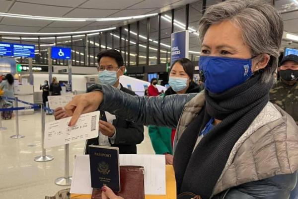 救国党議員らの帰国叶わず、ロサンゼルスで航空会社が搭乗拒否か