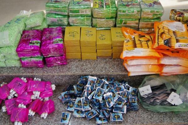 カンボジアから90キロの麻薬密輸、ベトナム人3人逮捕