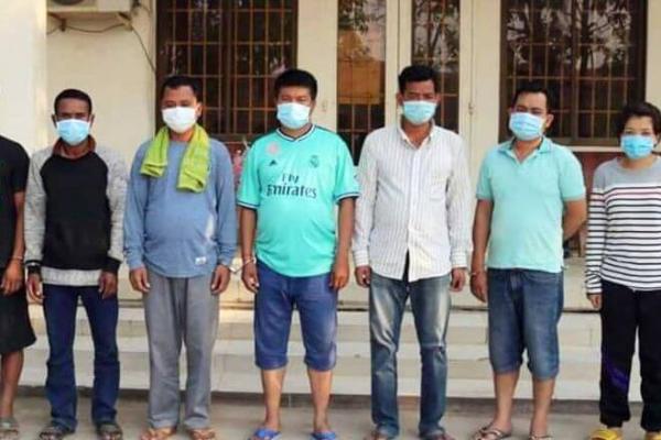 カンボジア、不法出入国のブローカー80人を逮捕