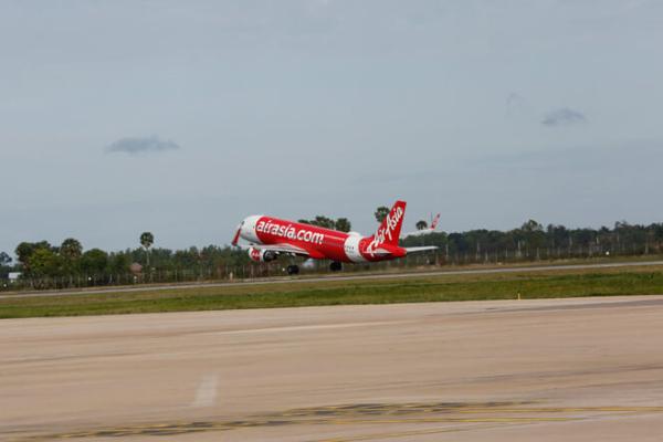 カンボジアの航空機発着数は未だ減少、2月前半は223便