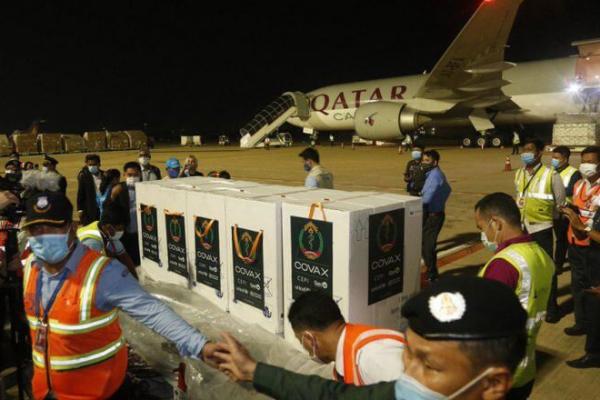 アストラゼネカ製ワクチン、カンボジアに到着