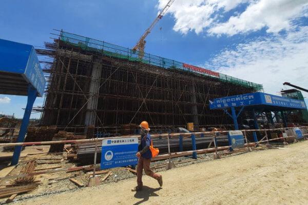 プノンペン新国際空港、建設の40%が完成