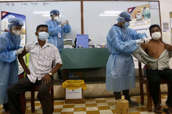 カンボジア:ワクチン接種率23%に