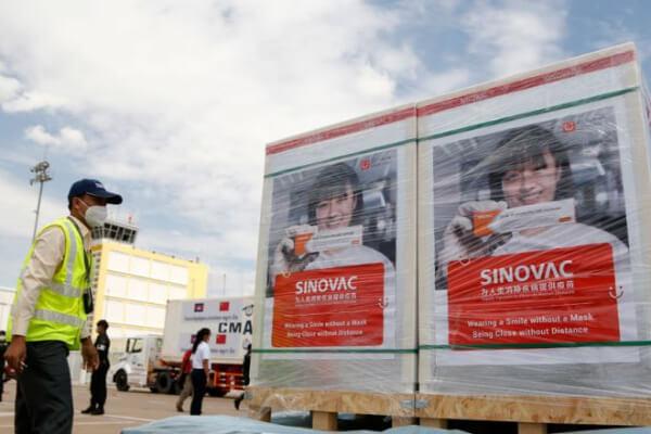 カンボジア:6月はワクチン450万回分が到着予定