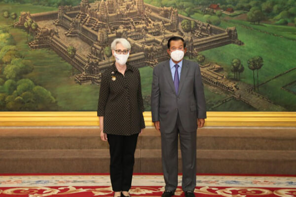 アメリカ、カンボジアにおける中国の軍事的な存在感に懸念表明