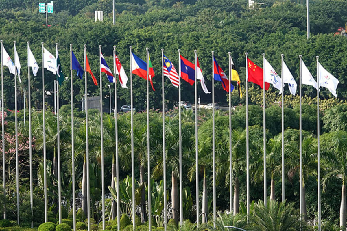 中国・ASEAN諸国外相会合、ワクチンパス導入などを議論
