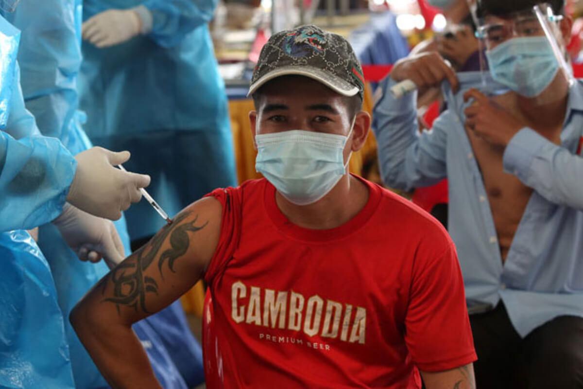 プノンペンのワクチン接種キャンペーンは7月8日で終了