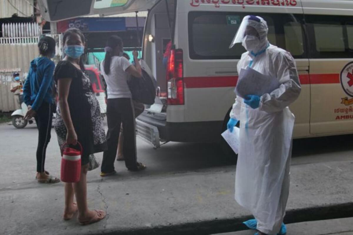 カンボジア:17日の新規感染者は625人、死亡者は12人