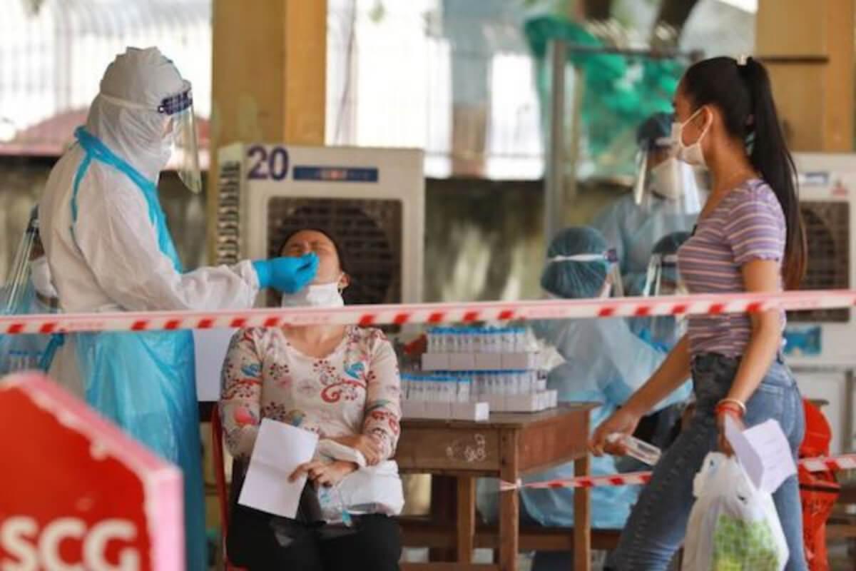カンボジア:7日は新型コロナ感染者954人、死亡者27人を確認