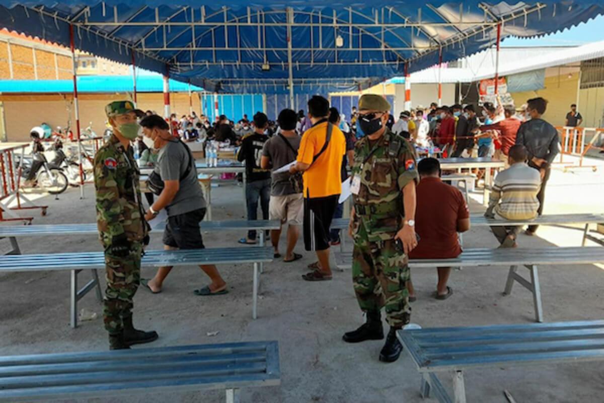 タイ〜カンボジア国境、11日でトラック運転手64人がコロナ感染