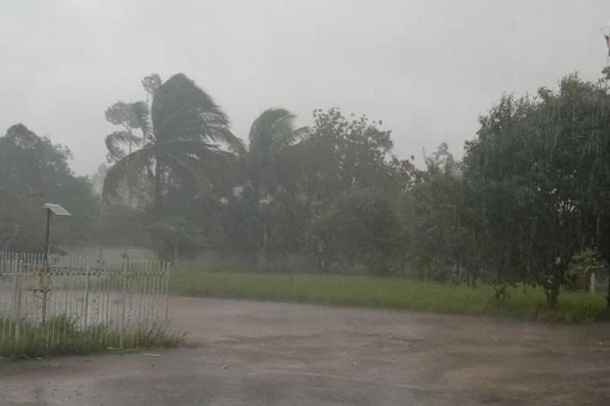カンボジア:21〜27日まで全国的に雨の恐れ、雷・突風も