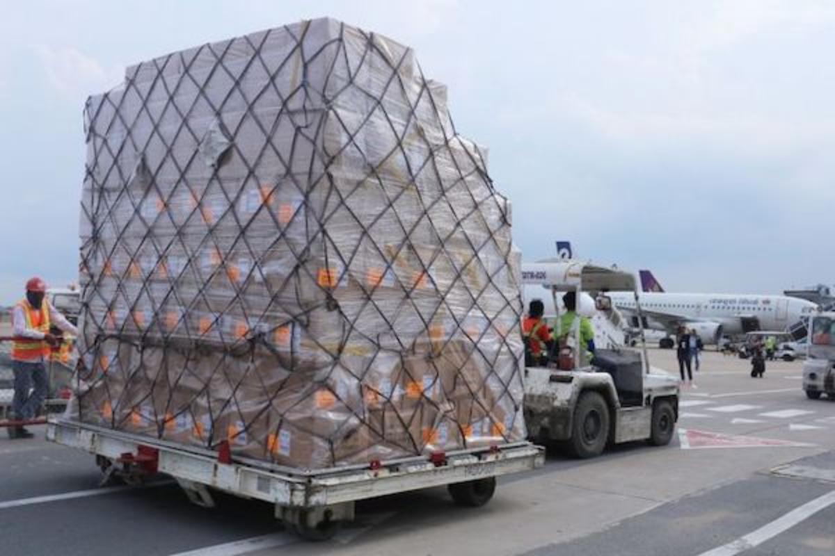 2021年上半期の航空貨物量、前年同時期比14%増加