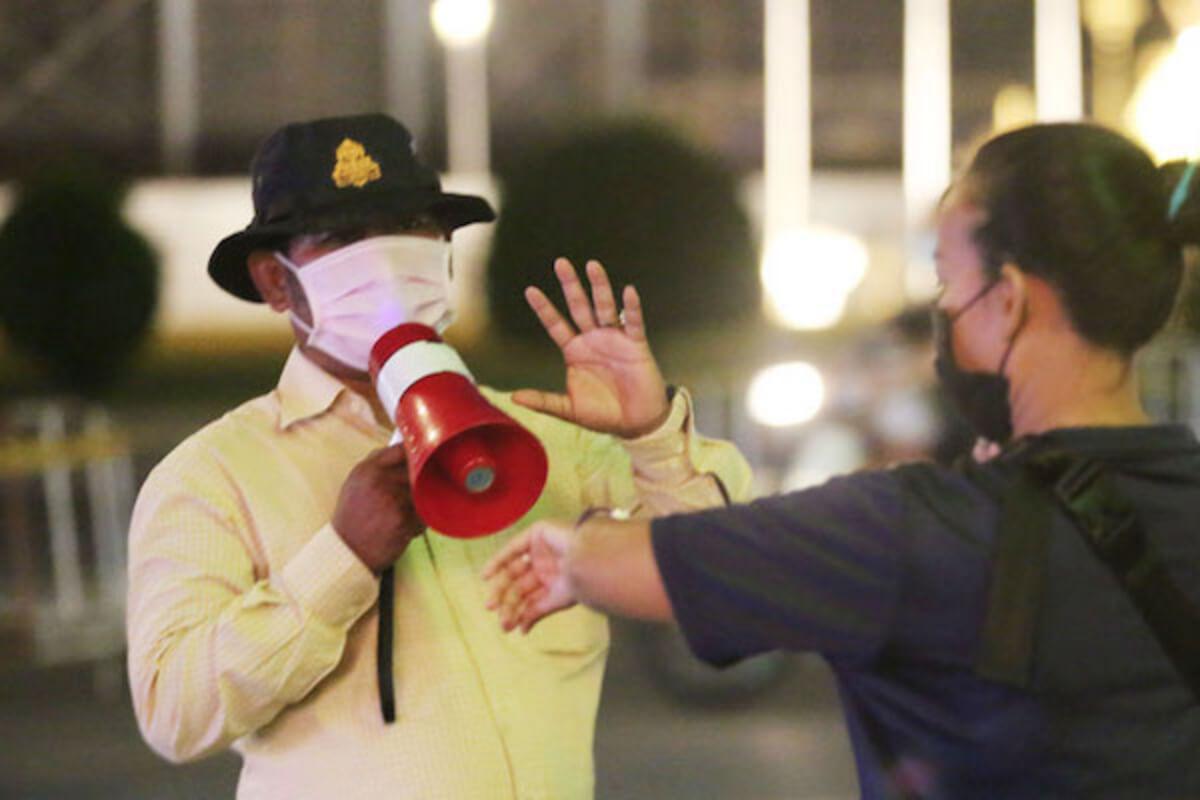 夜間外出禁止令、3日の違反者は500人超:プノンペン