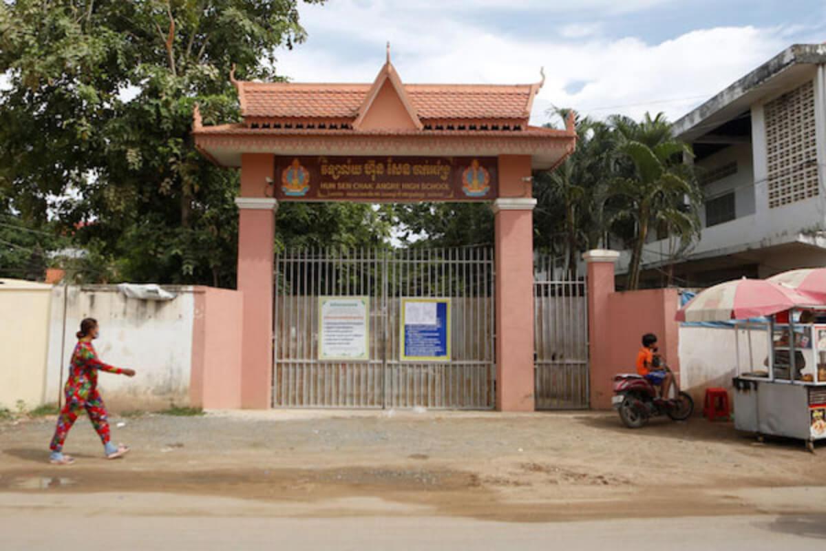 中学校・高校は9〜10月に再開か:カンボジア