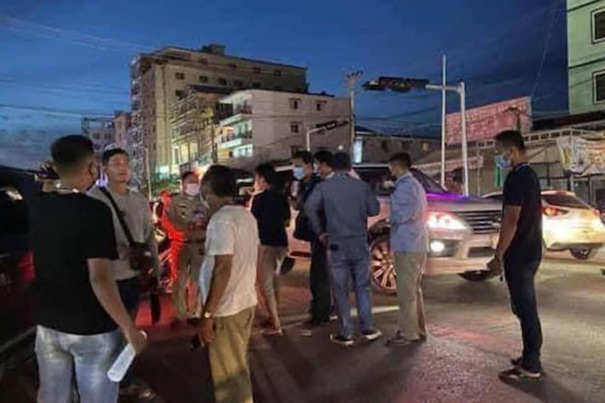 シアヌークビルで発砲事件、中国人含む3人逮捕