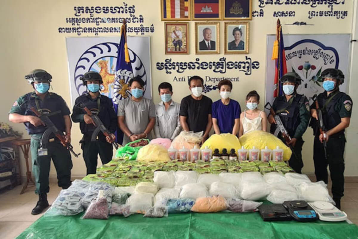 7月の薬物事件は329件、薬物219キロ押収・849人逮捕