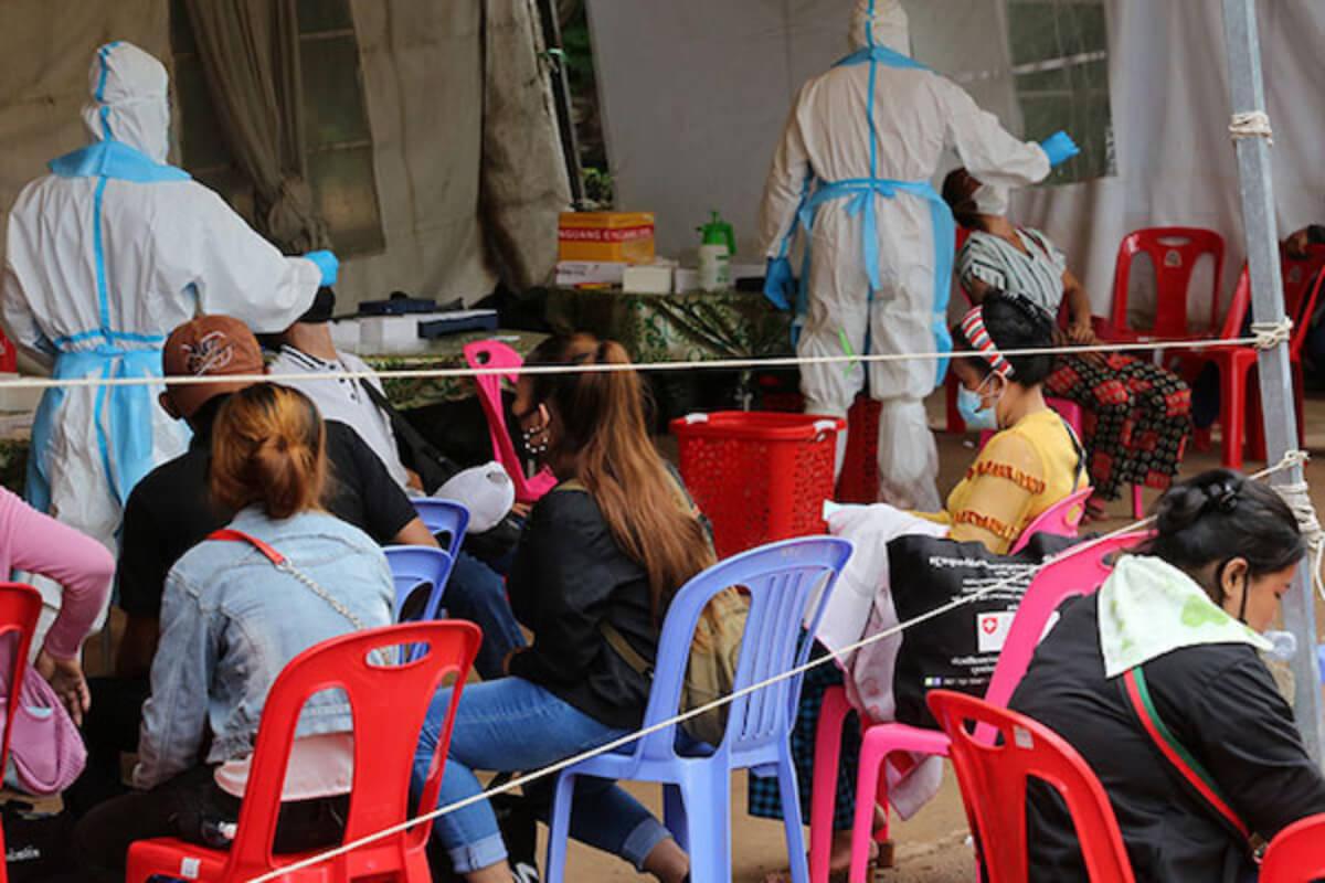 カンボジア、16日にも新型コロナワクチン接種者900万人超え