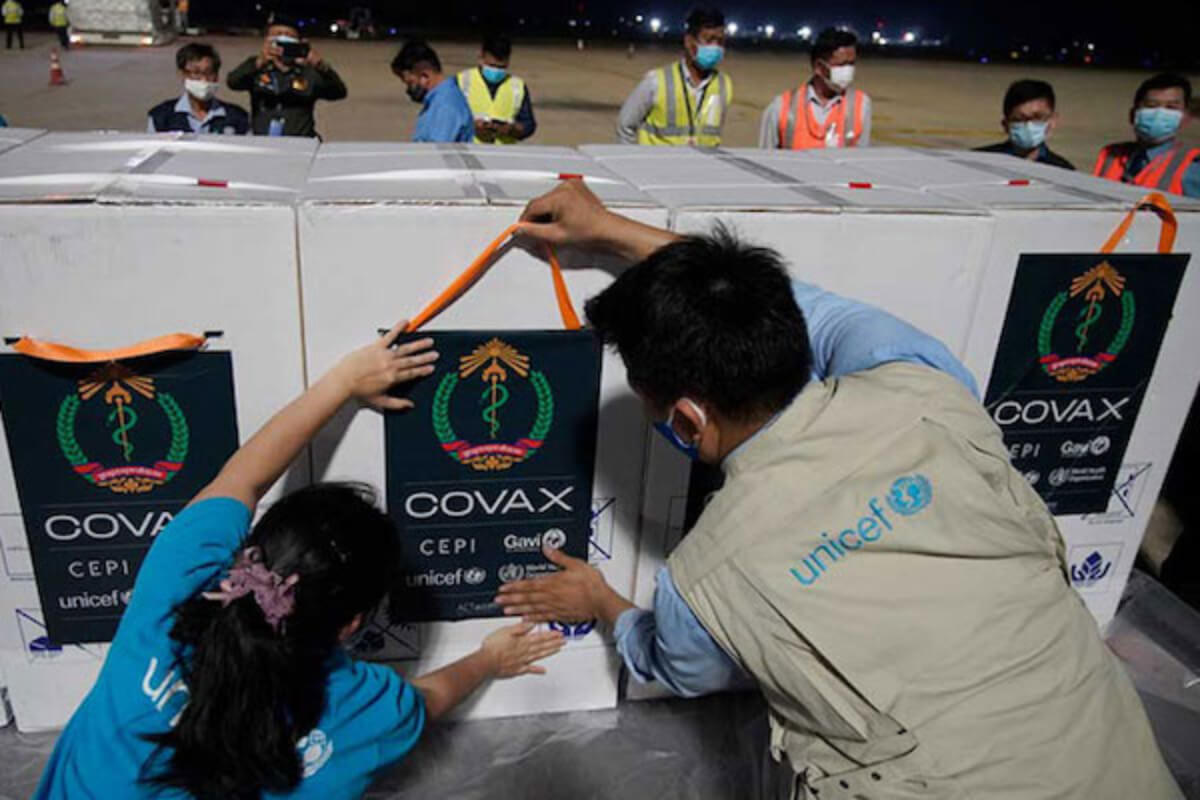 カンボジア:76万7000人以上がJ&J社製ワクチンを接種