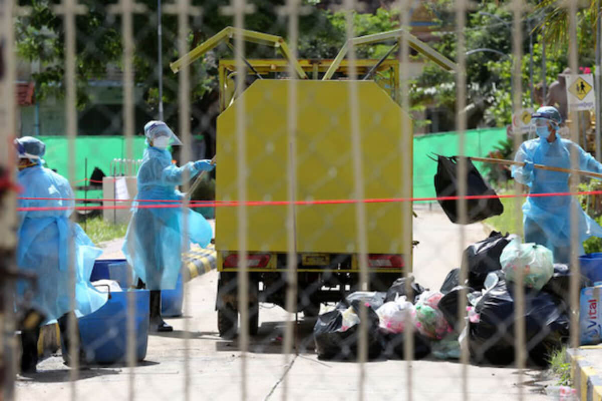 カンボジア、複数州で医療廃棄物の処理が大きな問題に