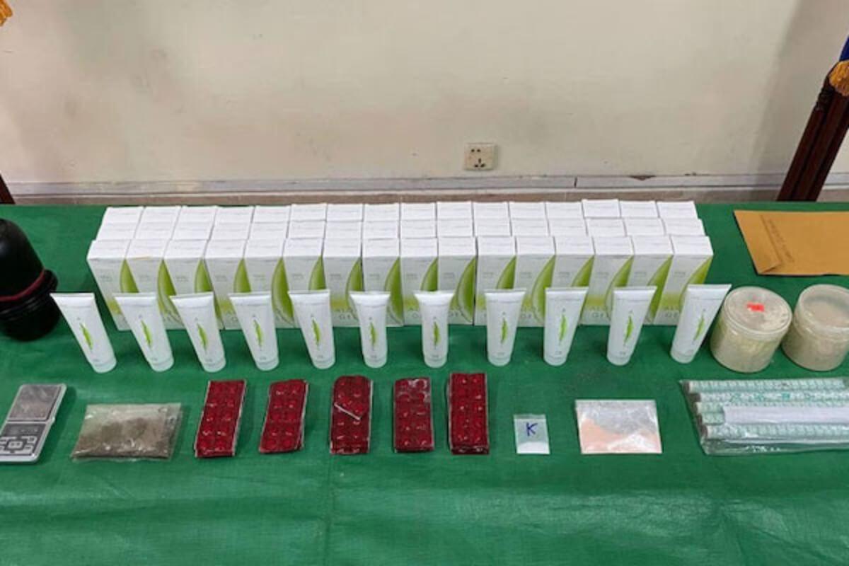 南アフリカから麻薬を密輸入、中国人3人・カンボジア人1人逮捕