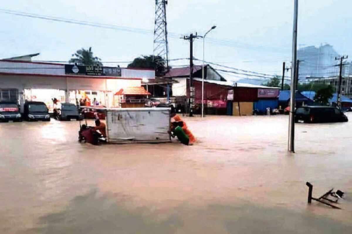 6日から洪水・鉄砲水発生の恐れ、プノンペン・その他6州で