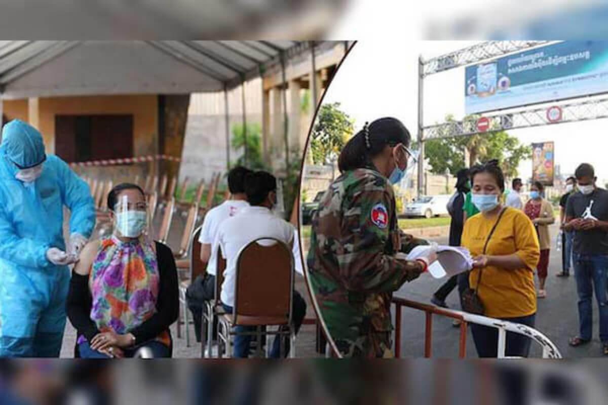 カンボジア:人口1600万人のうち75.31%にワクチン接種