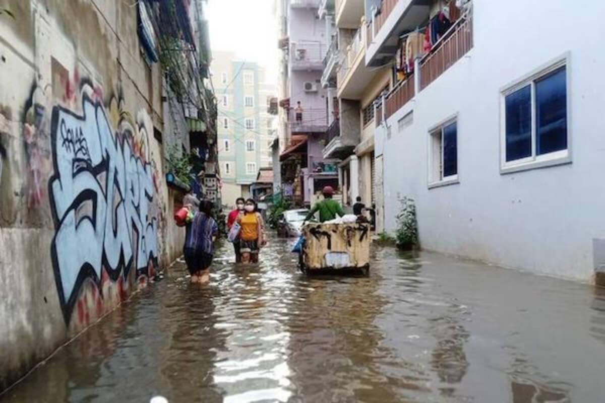 プノンペンなどで洪水発生の恐れ 20日〜23日まで