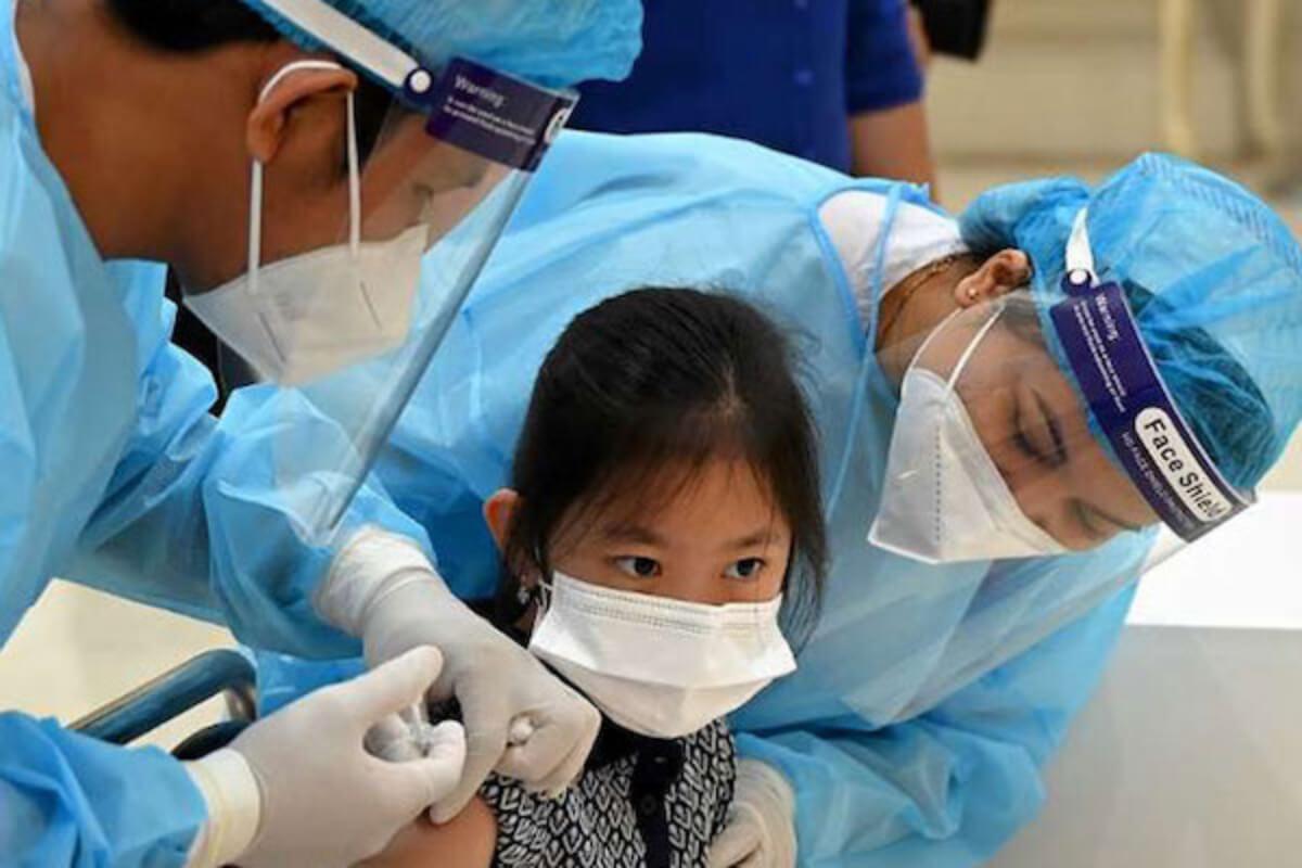 カンボジア:6〜12歳へのコロナワクチン接種、10日で78%超