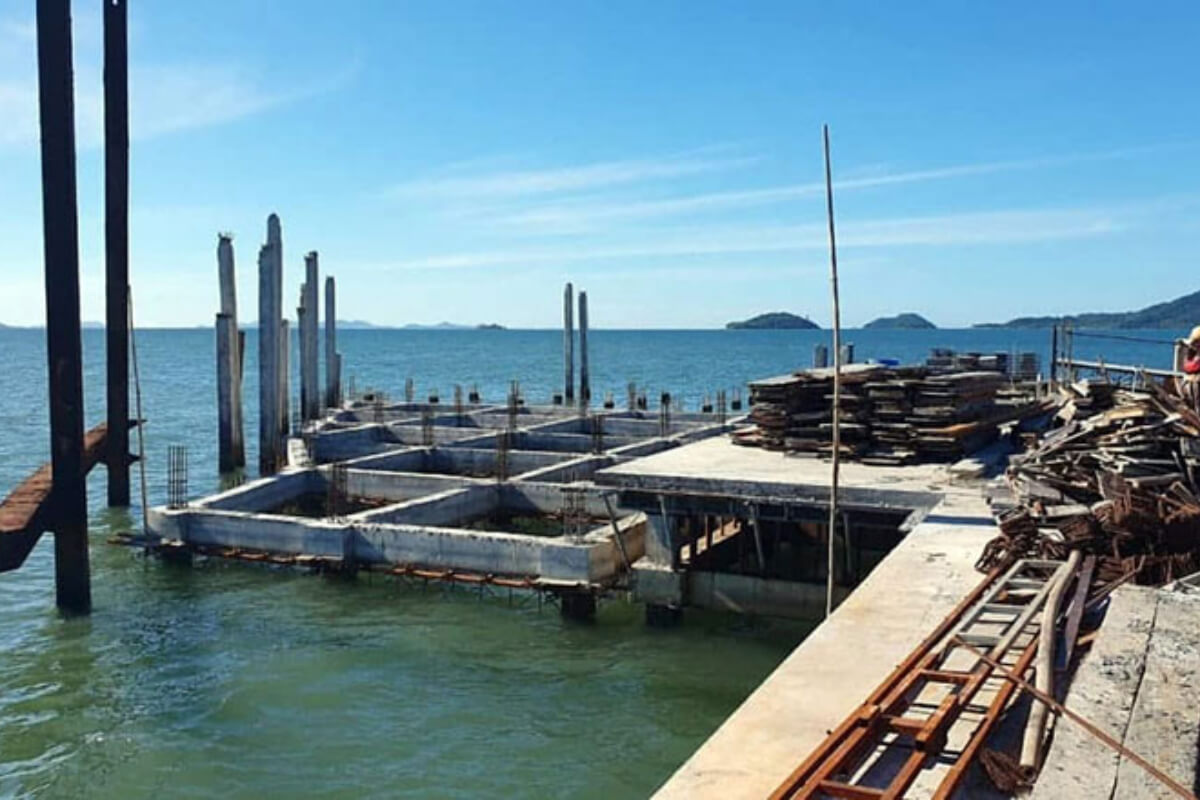 トンサイ島の観光港、10月中旬から建設開始へ