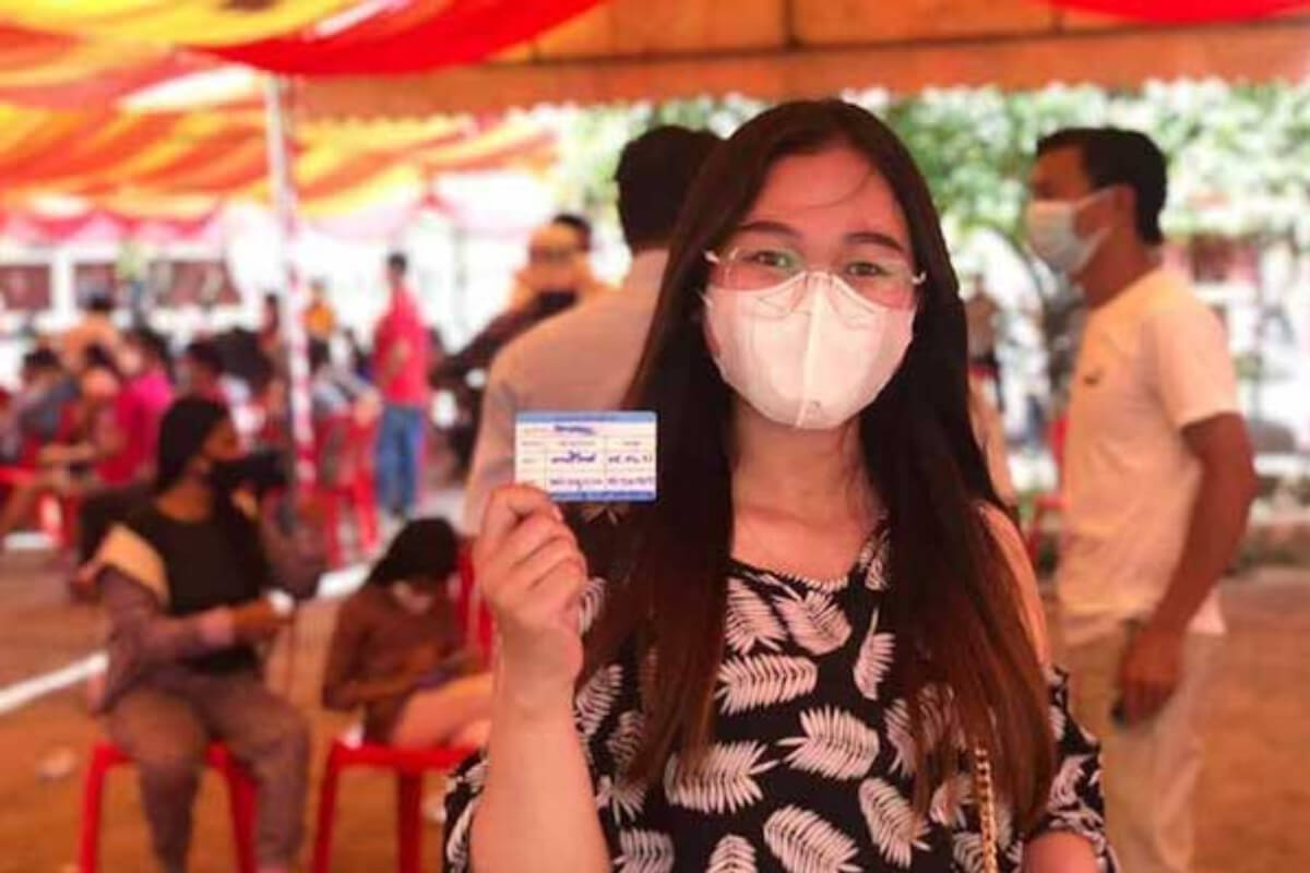 プノンペン:施設の出入りにワクチン接種証明の提示義務付け