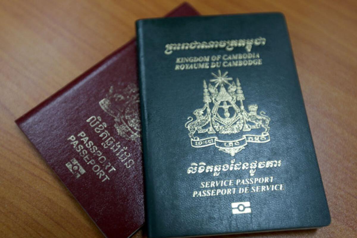 カンボジア、パスポート自由度95位 7位後退