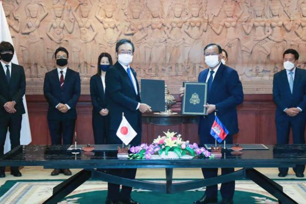 日本、カンボジアに円借款63億、無償協力16億円 社会経済開発で