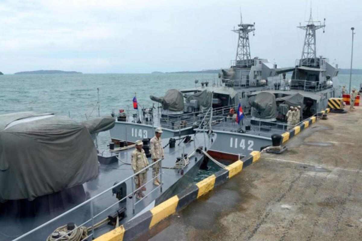 リアム海軍基地に新たな建築物、中国が関与か 米大使館が非難